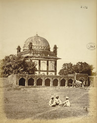 Islamic tomb at Khuldabad (Rauza).